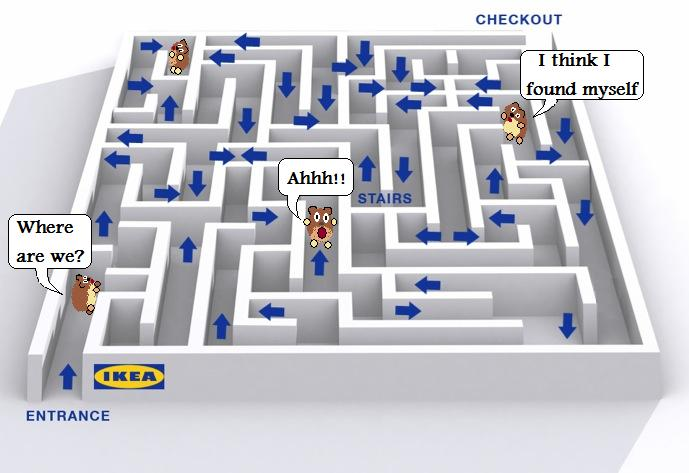 Missing man found u2018alive and frightenedu2019 in Ikea Store - flat pack furniture assembly services ...